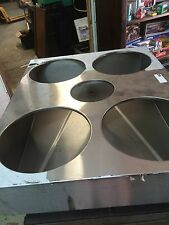 FOOD WARMER/CHILLER STAINLESS STEEL TABLE INSERT COMBO