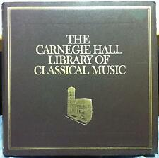 VARIOUS set 11 - impressionism 5 LP Mint- CARNEGIE HALL LIBRARY OF CLASSICAL