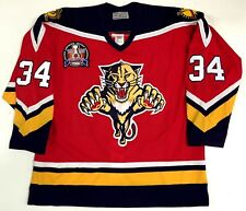 JOHN VANBIESBROUCK AUTHENTIC CCM FLORIDA PANTHERS 1996 STANLEY CUP JERSEY 52