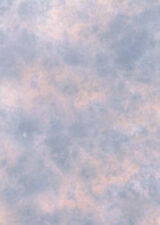 Photographic Background, Studio Backdrop, 2.4m x 2.4, Pink / Blue, Clouded.