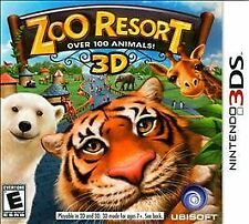 NINTENDO 3DS ZOO RESORT 3D - BRAND NEW - FREE SHIPPING & TRACKING
