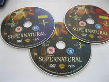 SUPERNATURAL SERIES 1 Vol 2 - 3 discs featuring 11 episodes - DISC ONLY {DVD}