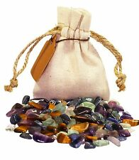 Solving Difficulties Power Pouch Healing Crystals Stones Set Natural Gemstones