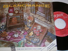 """7"""" - Blancmange / The Day before you came (Abba Coverversion) MINT 1984 # 1457"""