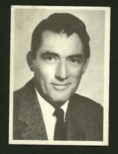 Gregory Peck #63    Scarce 1950s MGM Italy Card  Look!