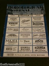 HOROLOGICAL JOURNAL - MAY 1953 - MARINE CHRONOMETER