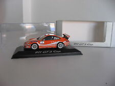 1/43 PORSCHE DEALER Minichamps PORSCHE 911 997 GT3 CUP display orange