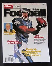 ATHLON SPORTS 1998 PRO FOOTBALL MAGAZINE IRVING FRYAR PHILADELPHIA EAGLES NL