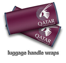 Qatar Airways Handle Wraps x2