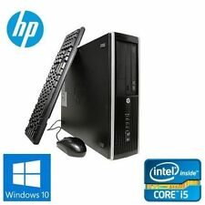HP 8200 SFF Desktop Computer PC i5-2400 3.1GHz 8 GB 500GB Windows 10 PRO