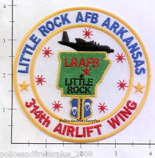 Arkansas - Little Rock Air Force Base AR Patch 314 Airlift Wing