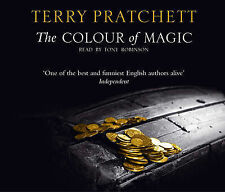 TERRY PRATCHETT - the COLOUR of MAGIC CD. - new