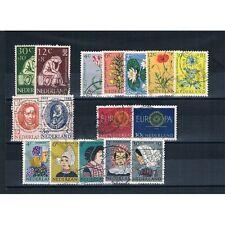 FR1175 - 1960 Olanda Annata completa usata 16v