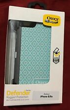 Brand New OtterBox Defender Moroccan Sky Printed Case + Holster fits iPhone 6/6s