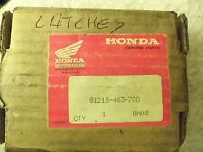 NOS HONDA SIDE BAG LOCK ASSY 81218-463-770 GOLDWING GL1100 GL 1100 KEY#A88