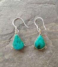 ROCK CANDY Turquoise 925 Sterling Silver Stone Earrings