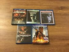 THE TERMINATOR Complete Collection Blu-Ray 5 Movies Genisys Salvation Judgment