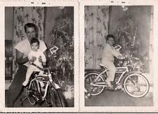 Kids & Dad Christmas Royal Deluxe Boys Vintage Tank Bike Bicycle 2 1959 Photos