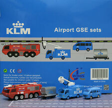 KLM GSE set JC Wings Airport Scenic Series Ground Services Equipment      XX2026