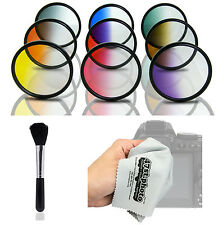 Opteka Graduated Color Filter Kit for Nikon D4 D810 D750 D7200 D5500 D5300 D3300