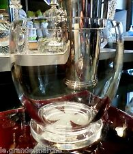 STEUBEN AMERICAN ART GLASS ICE BOWL BUCKET VASE BY FREDERICK CARDER, #7547