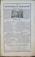 Finsbury Square Map Archery 1832 London Bridge Demolition - Numismatic Coins