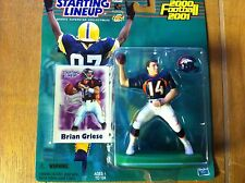 BRIAN GREISE 2000 2001 RARE STARTING LINEUP DENVER BRONCOS MICHIGAN