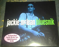 "JACKIE MCLEAN ""BLUESNIK"": 2CD SET ALSO CONTAINS ""CAPUCHIN SWING"". NEW AND SEALED"