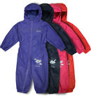 REGATTA PUDDLE RAIN SUIT WATERPROOF ALL IN ONE CHILDRENS KIDS GIRLS BOYS