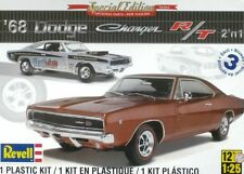 Revell 1/25 1968 Dodge Charger 2 'n 1 Stock Muscle Car or Drag Model Kit 85-4202