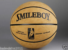Cowhide Leather Anti Slip Basketball in/Outdoor Street Ball Official Beige