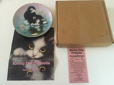 1990 Rainy Day Friends - Curious Kittens Collection Collector Plate