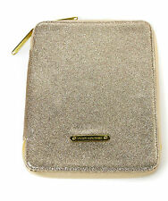 JUICY COUTURE GOLD GLITTER GLITTERY IPAD CASE HOLDER  - EXCELLENT CONDITION