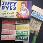 1950s JIFFY DYE for Cotton, Silk & Wool.. with Instructions ...Choice of Colours