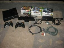 XBOX 360 Slim Kinect 500Gb + 23 games