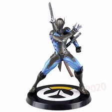 "Game Overwatch Genji 9.5"" Base Figure Blue Ver Hochot Gift Loose"