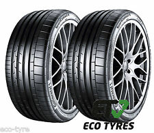 2X Tyres 225 35 ZR19 88Y Continental ContiSportContact6 E A 72dB