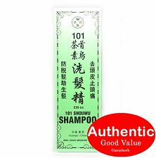 101 ShouWu Shampoo for hair loss, hair cuticle damage and dandruff (230ml) New!