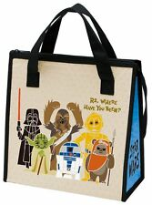 Skater (Japan) Insulation Bento Lunch Cool Bag - Star Wars Paper Cut