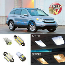 6Pcs Dome LED Interior Package Fit For Honda CRV (Includes License Plate LED)