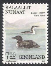 Greenland 1987 Northern Divers/Birds/Nature/Wildlife/Conservation 1v (n43670)