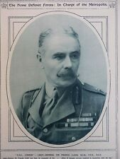 1917 LT. GENERAL SIR FRANCIS LLOYD 'GOC LONDON' HOME DEFENCE FORCES WWI WW1