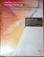 *SEALED* Adobe Creative Suite 3 Design Premium Mac CS3 MPN: 19500007
