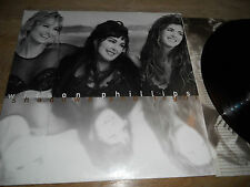 WILSON PHILLIPS SHADOW & LIGHT 1992 ALBUM W.GERMAN LP OUT OF PRINT PRESSING USED