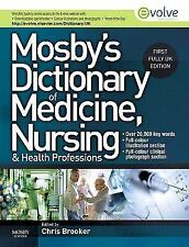 Mosby's Dictionary of Medicine, Nursing and Health Professions UK Edit-ExLibrary