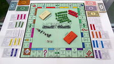 Vintage Monopoly Game with board and items pantent applied for N 3796/36