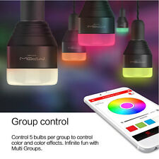 MIPOW Bluetooth 4.0 Smart LED Light Bulb  E27 5W RGB APP Control Christmas Party
