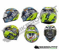 AGV Helm Integralhelm Sporthelm PISTA GP ROSSI WINTER TEST 2016 Gr. MS (57)