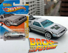 RARE Back to the Future Day Hot Wheels Delorean Logo Oct 21 2051 New on Card DMC