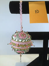 Cracker Box Christmas Ornament Built Ready for display Fruit Cake #10